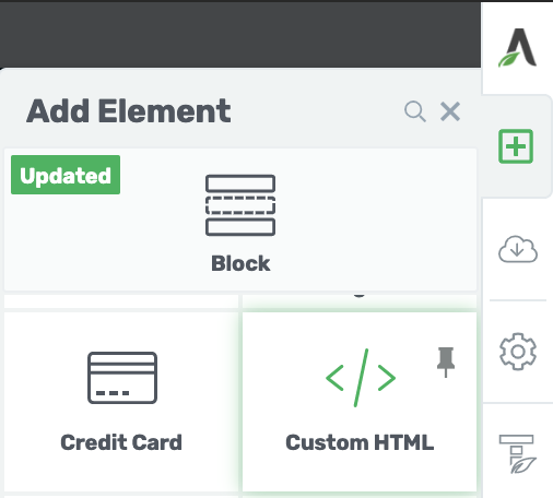 Thrive Themebuilder HTML Element